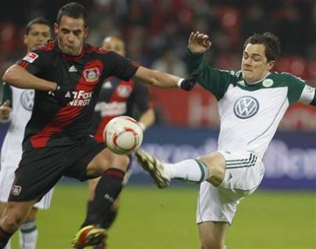 Leverkusen back in second place in Germany