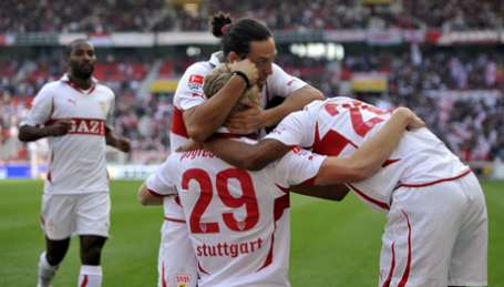 Stuttgart beat in the derby at the bottom