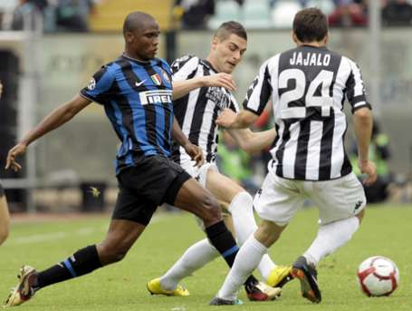 Eto'o believes in the success of the Inter
