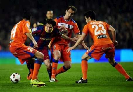 Barca without problems Getafe