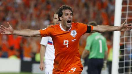 Van Nistelrooy is back in the national