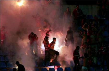 VIDEO: Polish hooligans terrified Lithuania