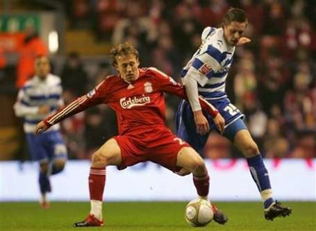 Lucas Leiva countersigned by Liverpool