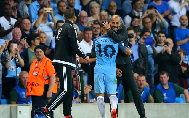 Pep: 'There's nothing more that I can teach Aguero.'