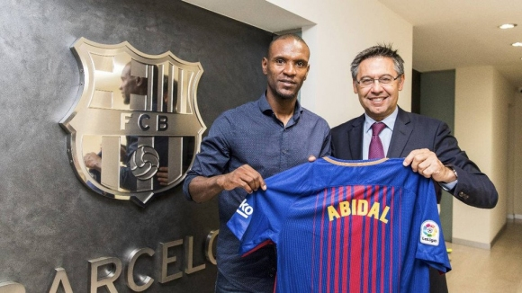 Abidal is back to Barcelona