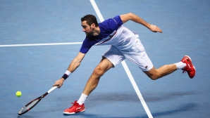 Cilic continues confidently in India